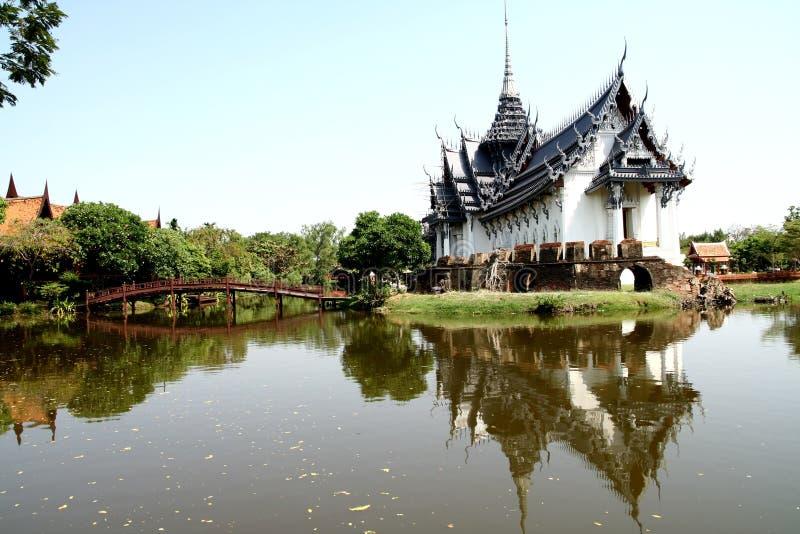 Thailändische Architektur stockfotos