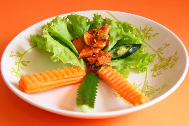Thailändische Art des Grills lizenzfreie stockfotografie