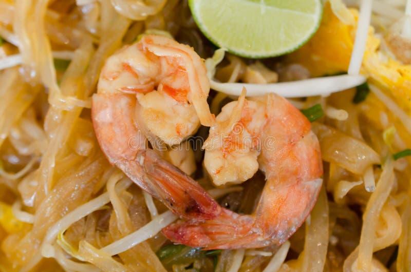 Thailändische frische Garnele der Auflage stockfoto