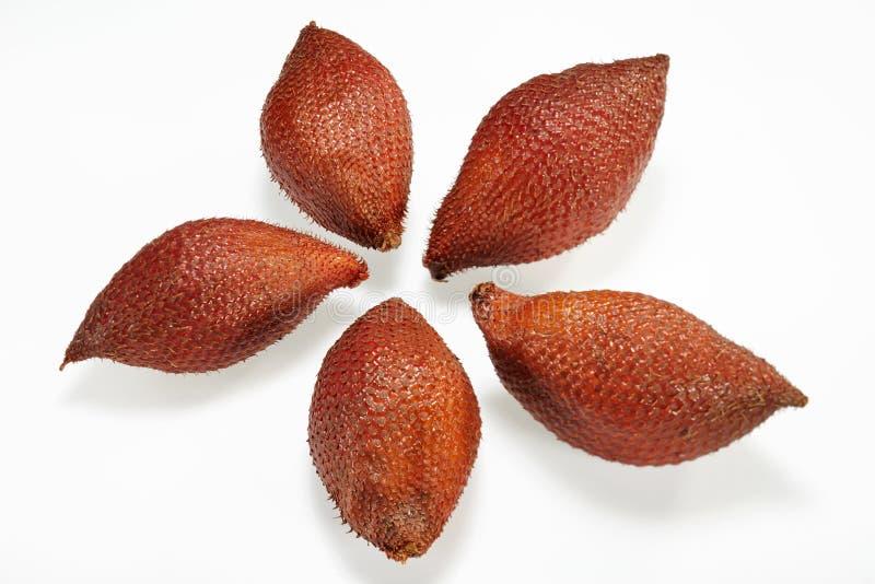 Thailändische Frucht (Sala oder Zalacca weicht) aus stockfotos