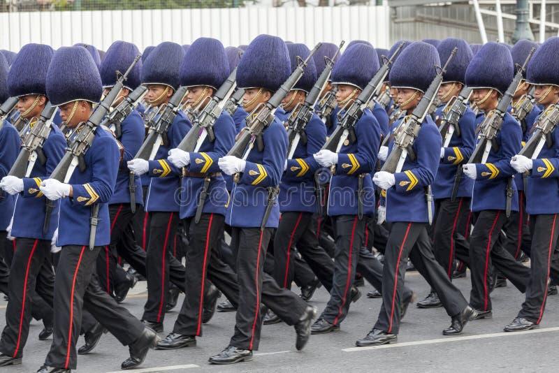 Thailändische königliche Armee lizenzfreies stockbild