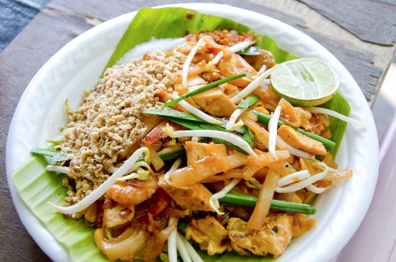Thailändische Nudel stockfotografie