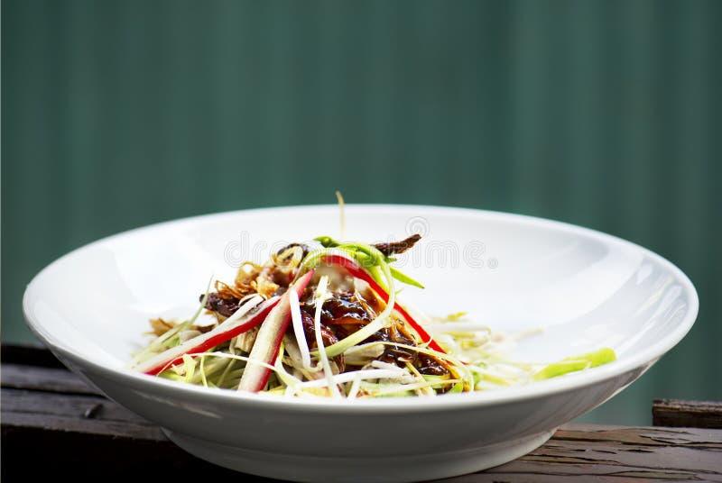 Thailändische Salatmischungsfrucht lizenzfreies stockbild