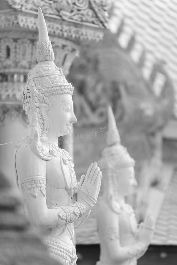 Thailändische Schutzengelstatue lizenzfreie stockfotografie