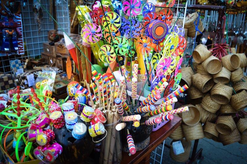 Thailändische traditionelle Spielwaren lizenzfreie stockfotografie