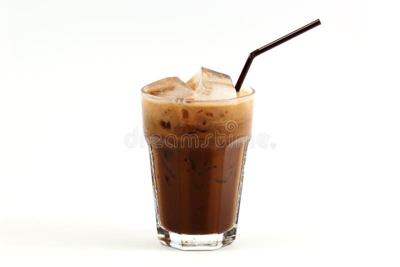 Thailändischer Art Eiskaffee lizenzfreies stockbild