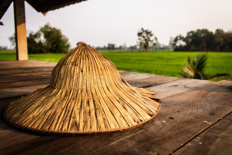 Thailändischer Landwirthut stockfotografie