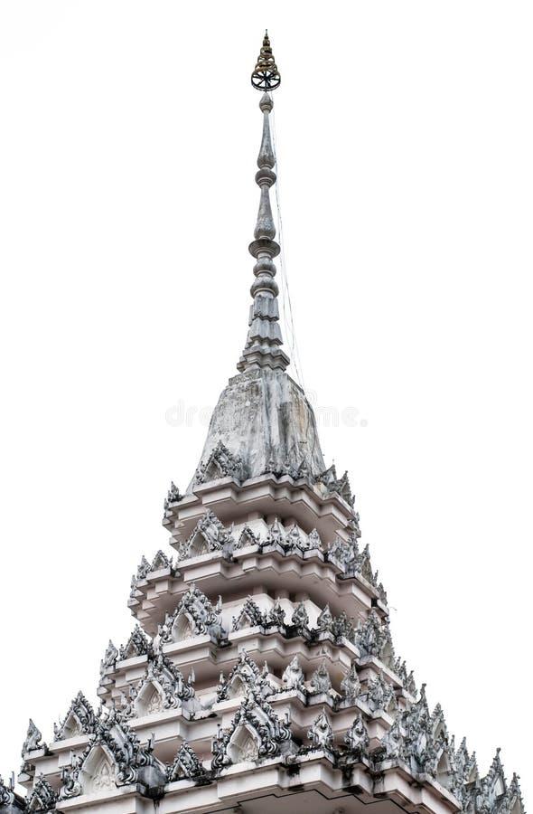 Thailändischer Mönch Crematory stockbilder