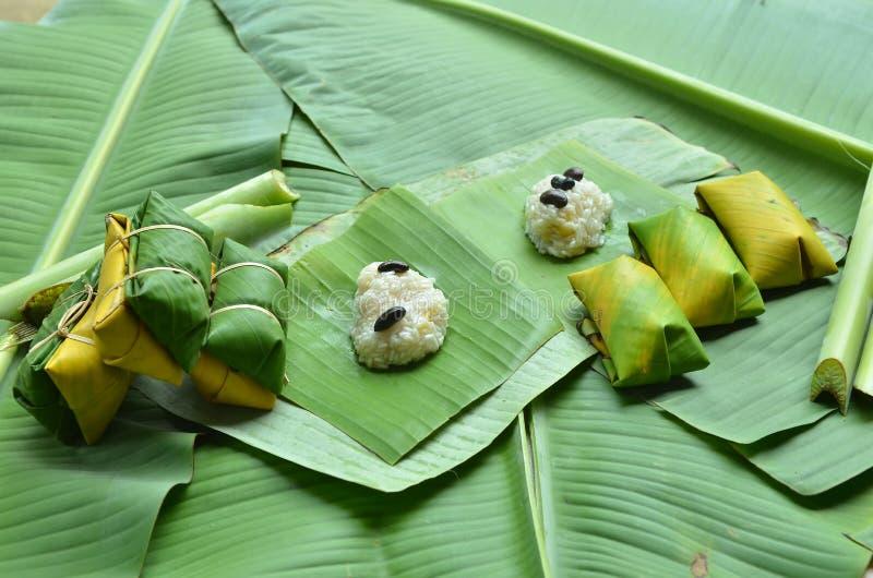 Thailändischer Nachtisch bei Thailand durch thailändische Leute stockfotografie