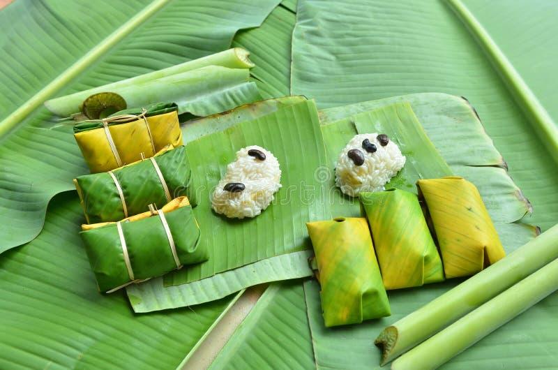 Thailändischer Nachtisch bei Thailand durch thailändische Leute lizenzfreie stockfotografie
