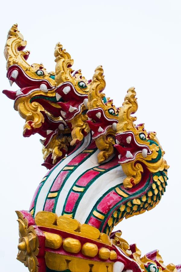 Thailändischer Naga stockfoto