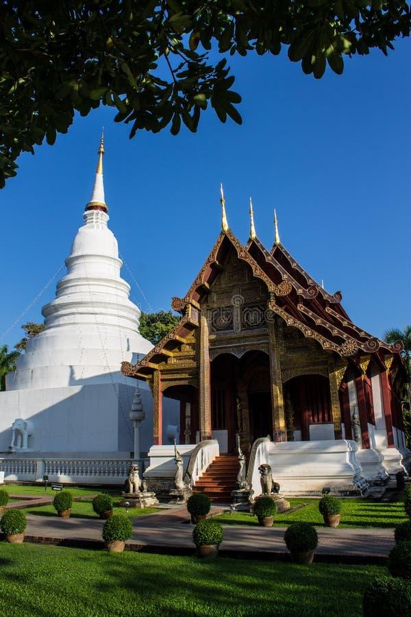Thailändischer Tempel stockbild