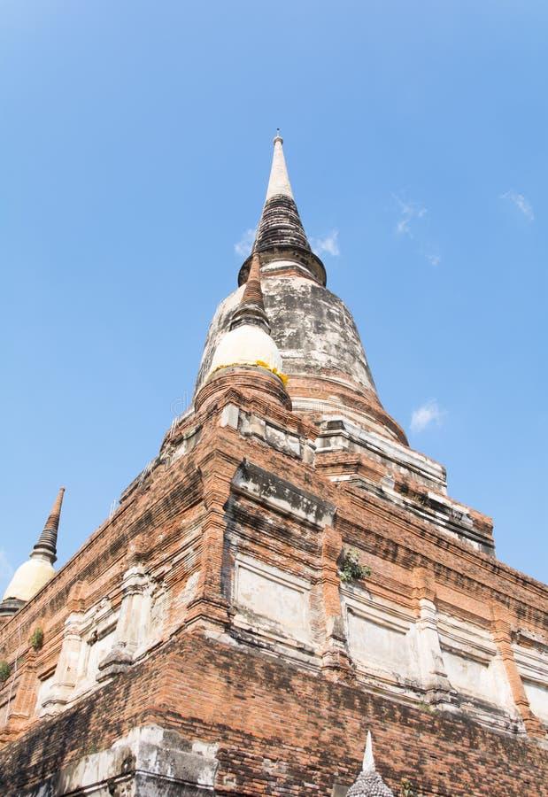 Thailändischer Tempel Watyaichaimongkol stockfotografie