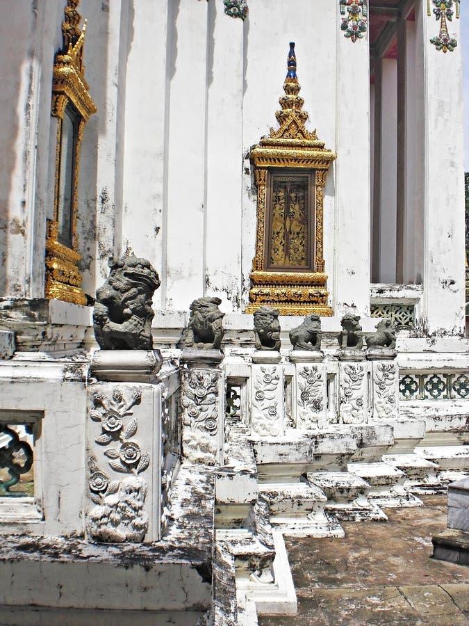 Thailändisches Architekturelement stockfoto