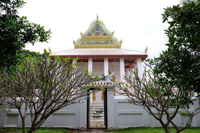 Thailändisches königliches Schongebiet von Nonthaburi stockbild