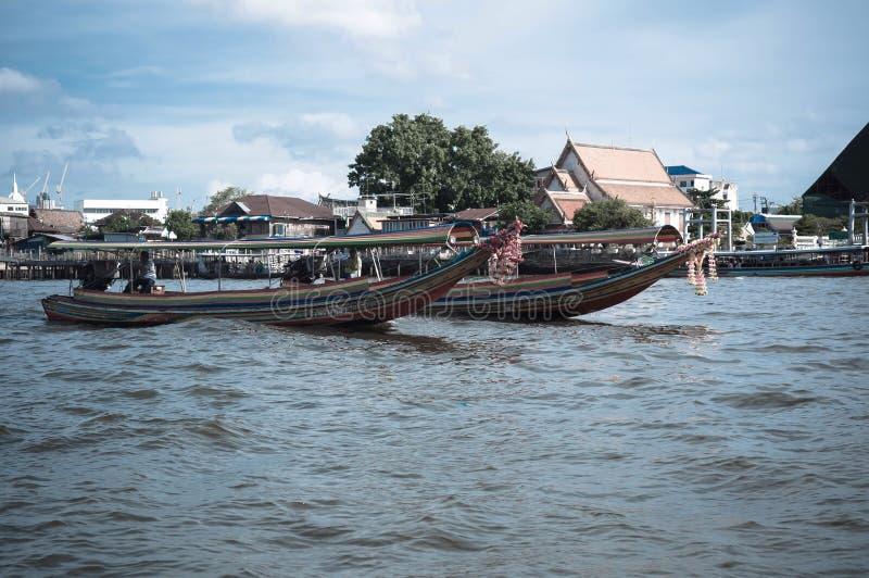Thailändisches Schnellboot stockfoto