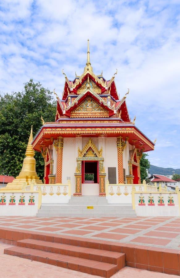 """Thailändsk †""""Penang Malaysia för buddistisk tempel arkivbild"""