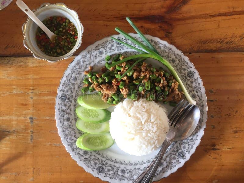Thailändsk berömd mat royaltyfri foto