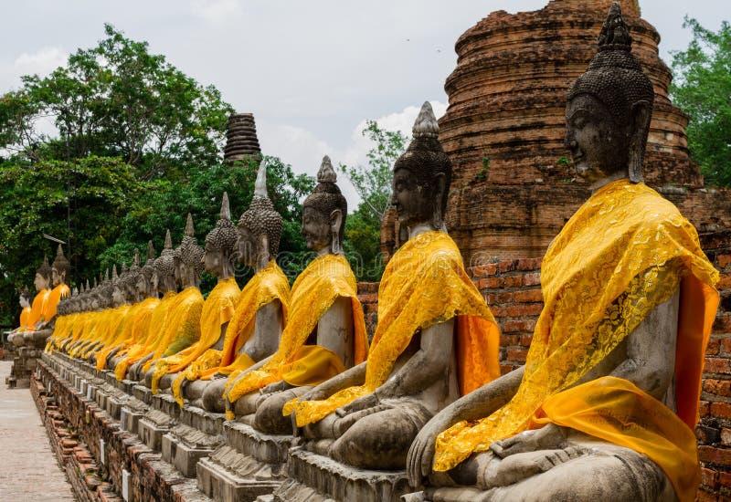 Thailändsk Buddha arkivbilder