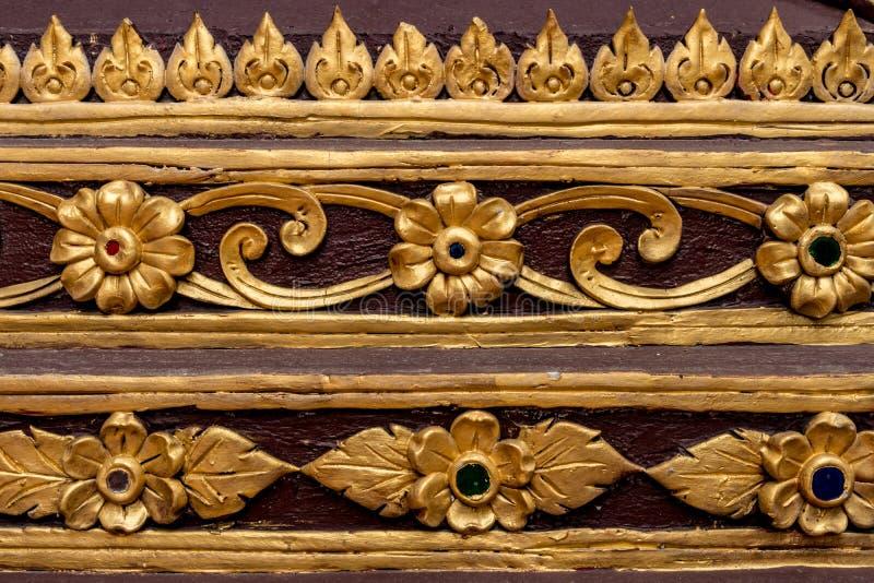 Thailändsk konkret stuckatur royaltyfri fotografi