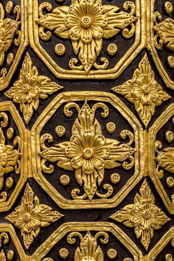 Thailändsk konkret stuckatur royaltyfri bild