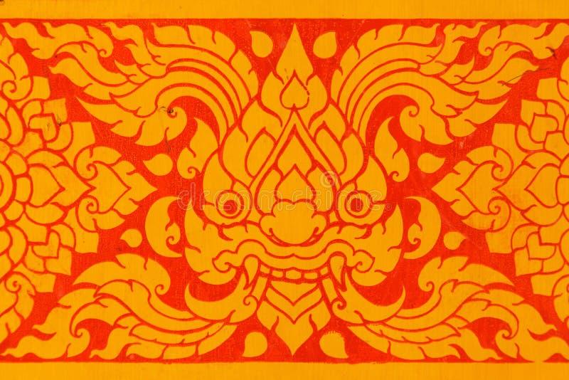 Thailändsk konst royaltyfria bilder
