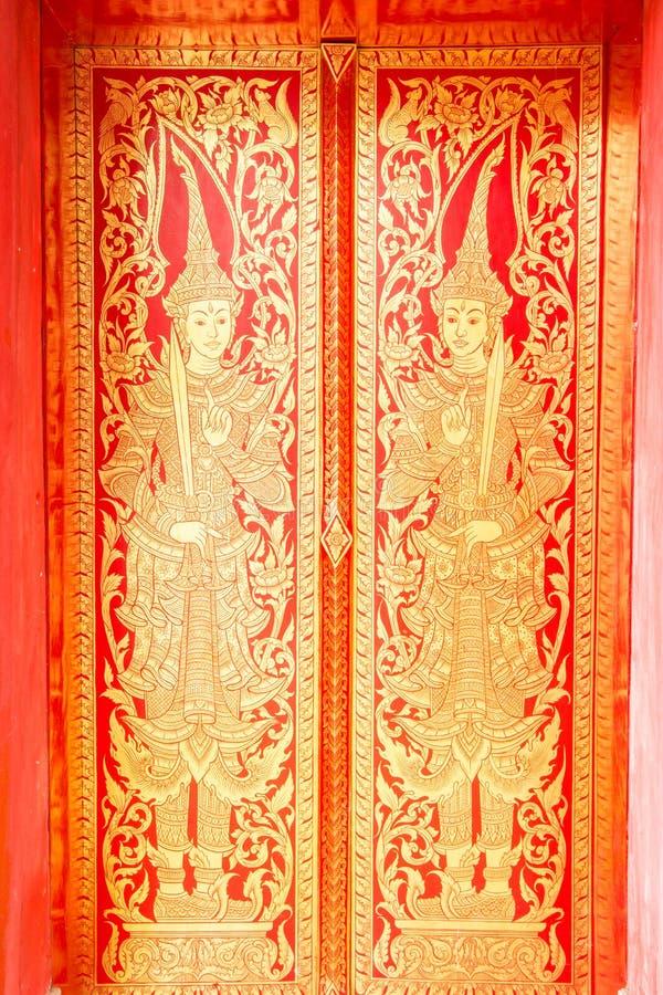 Thailändsk konstmålning royaltyfria bilder