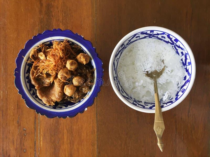 Thailändsk kunglig kokkonst royaltyfria foton