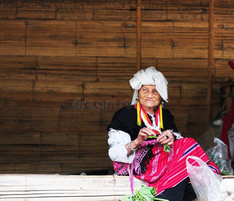 Thailändsk kvinna royaltyfri fotografi