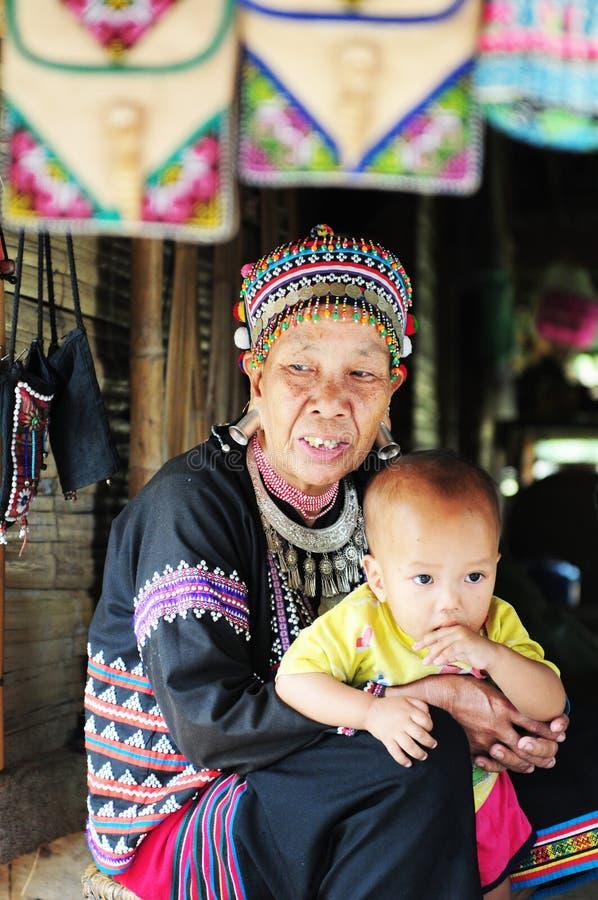 Thailändsk kvinna arkivbild