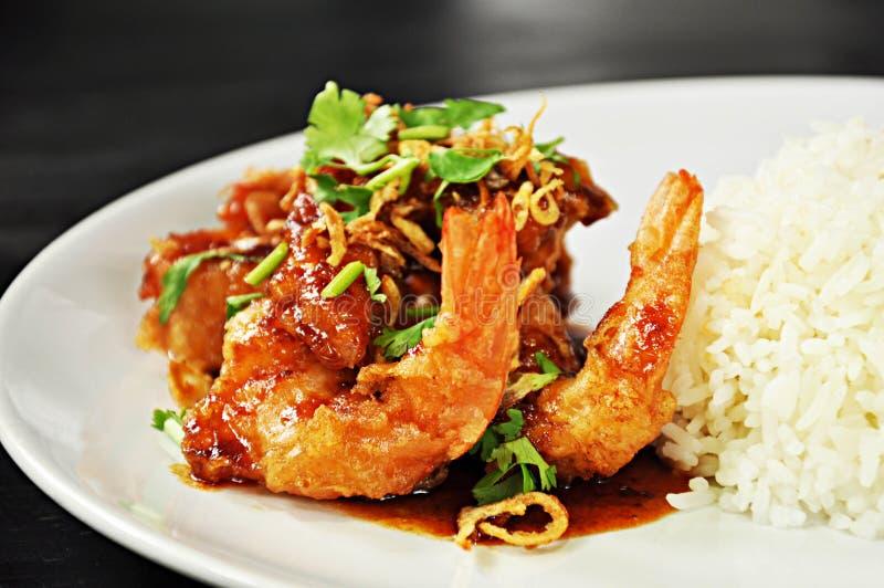 Thailändsk mat arkivfoto