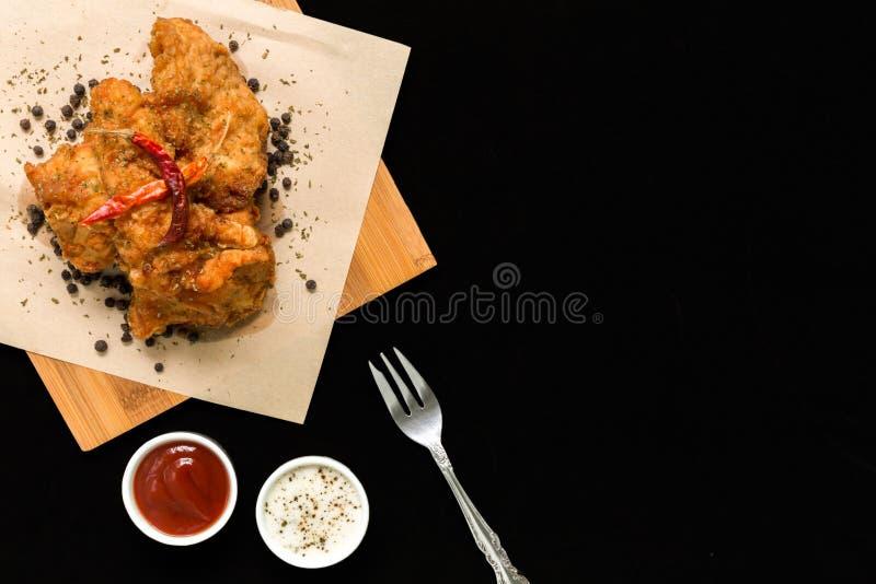 Thailändsk mat/thailändsk matbakgrund royaltyfria bilder