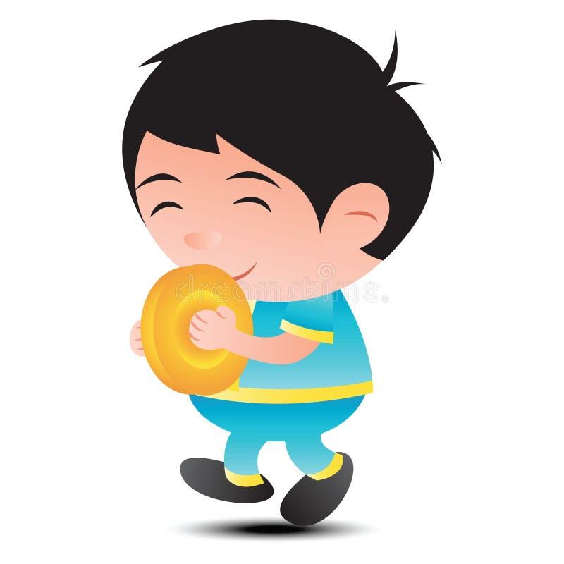 Thailändsk musikmusikbandcymbal för festivalen och händelsen, stort bubblahuvud ca stock illustrationer