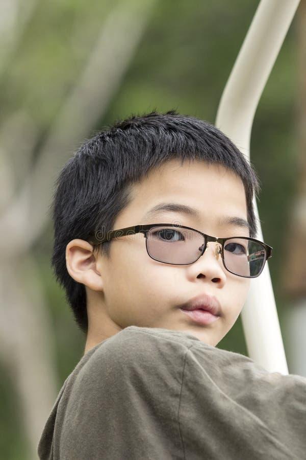 Thailändsk pojke royaltyfri bild