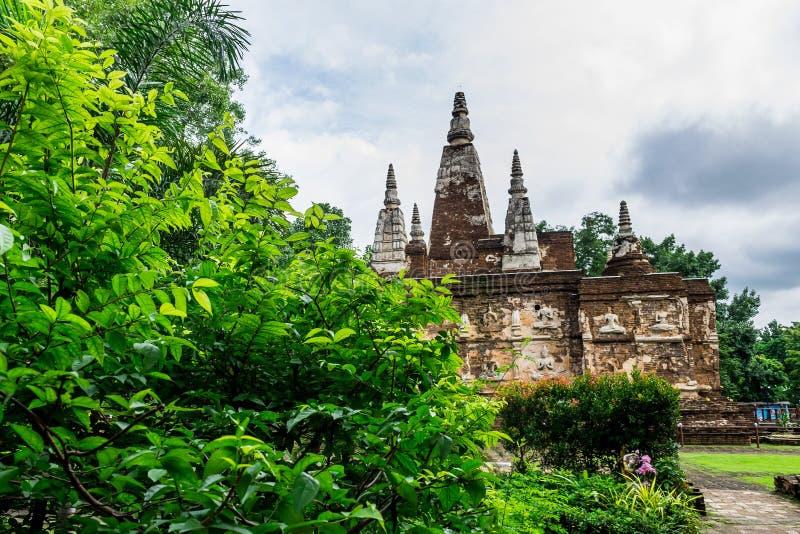 Thailändsk religiös achitecture royaltyfri bild