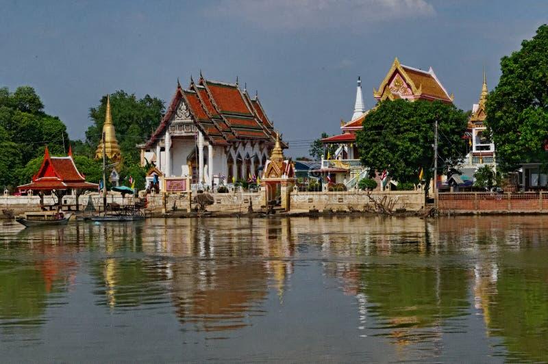 Thailändsk slott royaltyfri bild