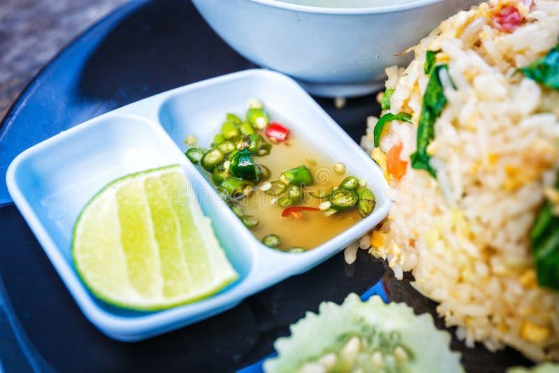 Thailändsk smaklig kokkonst royaltyfri bild