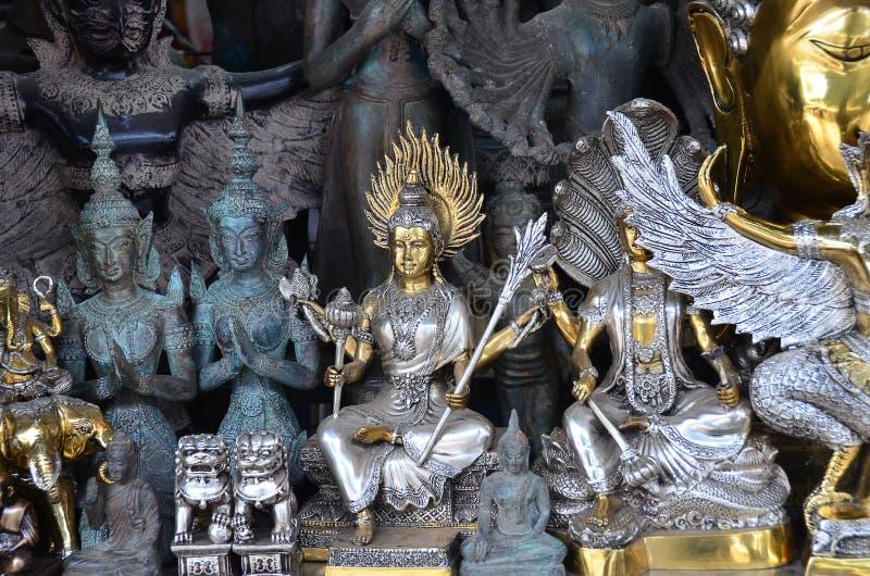 Thailändska amuletter arkivbild