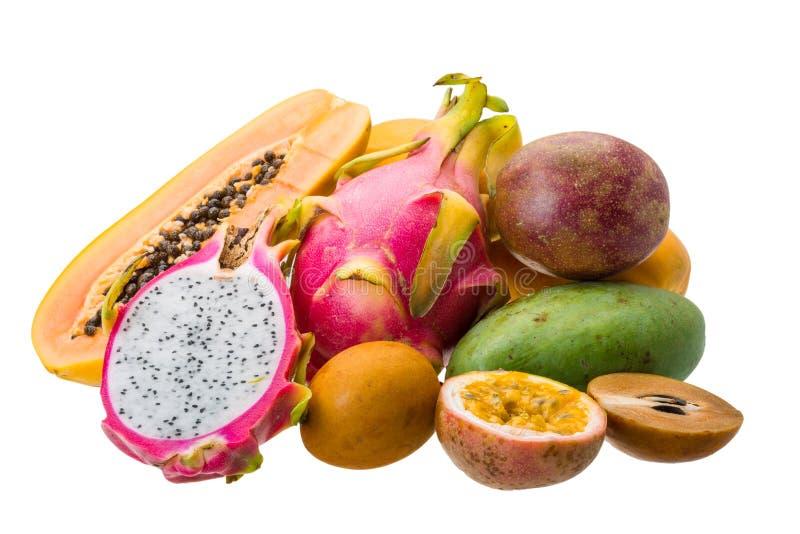 Thailändska frukter royaltyfri foto