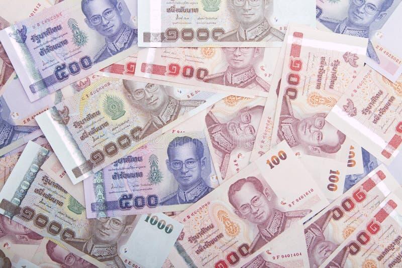Thailändska pengar arkivfoton