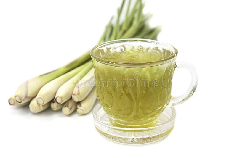 Thailändska växt- drinkar, vatten för citrongräs royaltyfria foton
