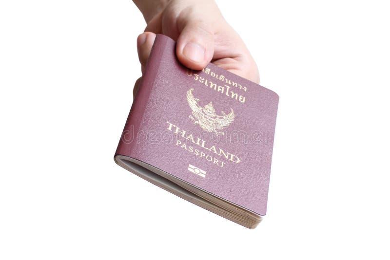 Thailändskt pass royaltyfria bilder