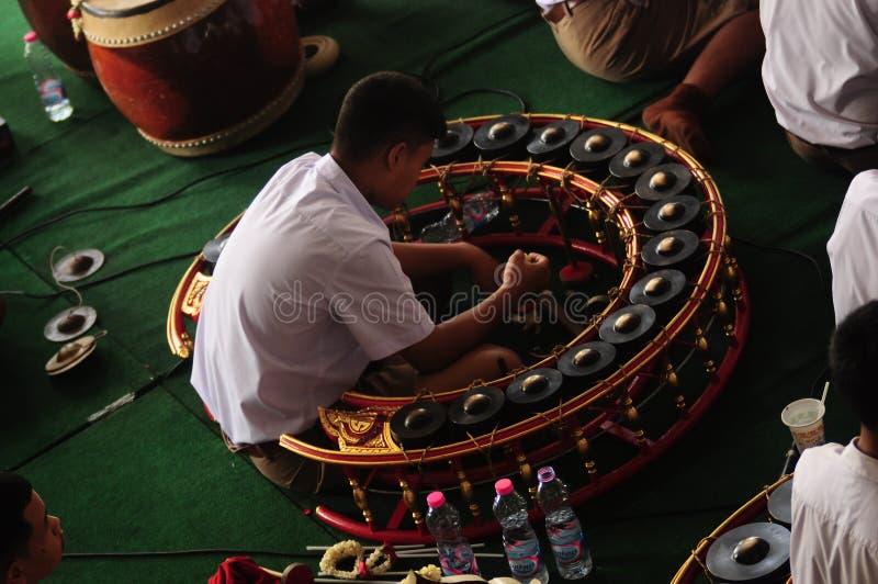 Thail xylofoon geroepen Khong vong stock afbeeldingen