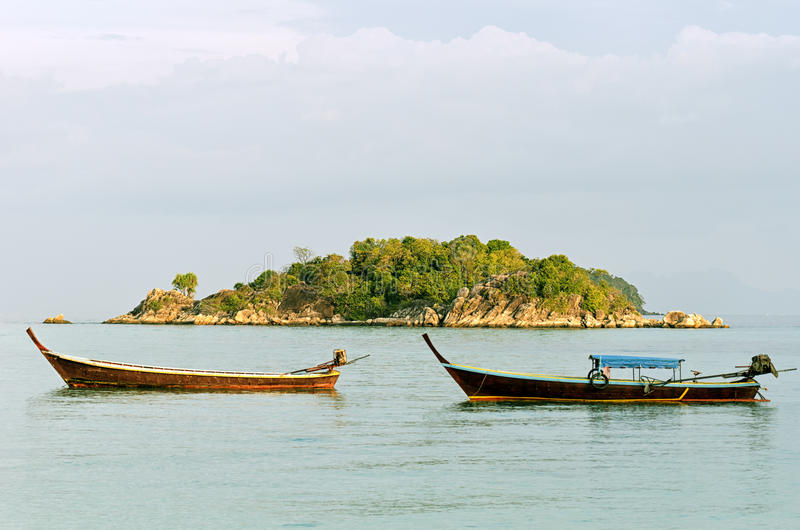 Download Thailand stock photo. Image of horizon, seascape, longtail - 26530964