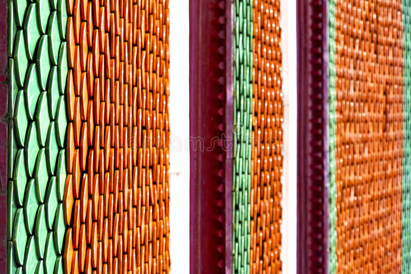 thailand abstract cross colors column asia and s stock image