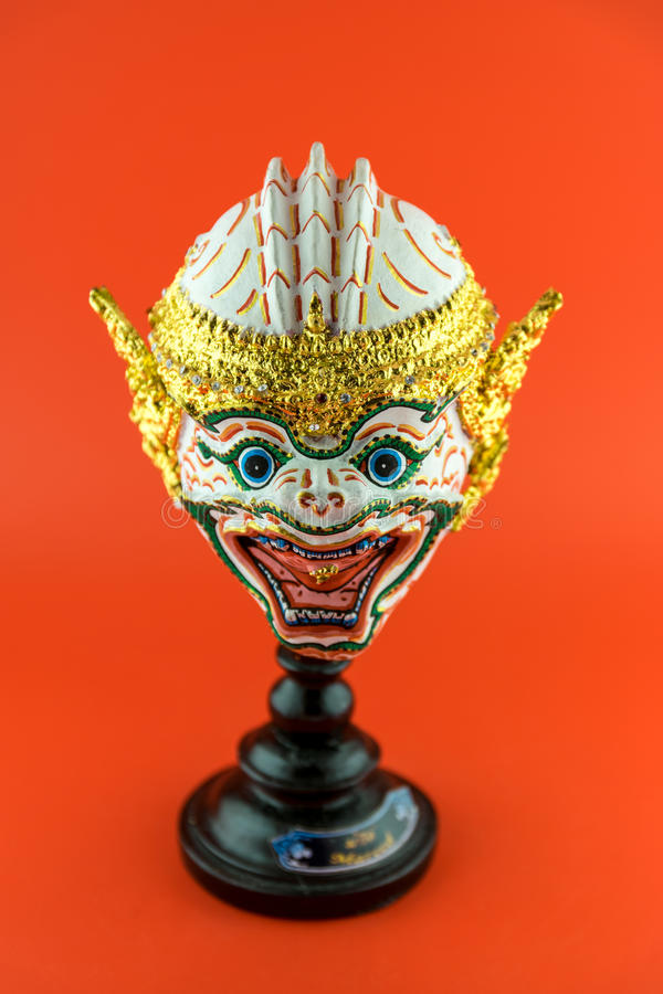 Thailand actor's mask stock photo