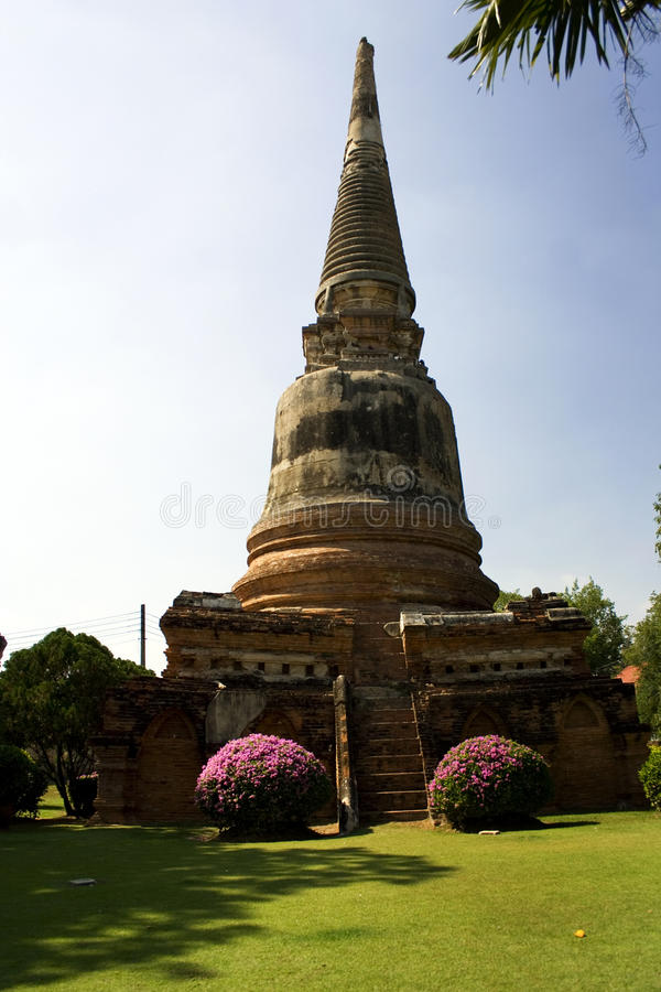 Thailand, ancient temples and pagodas stock photos
