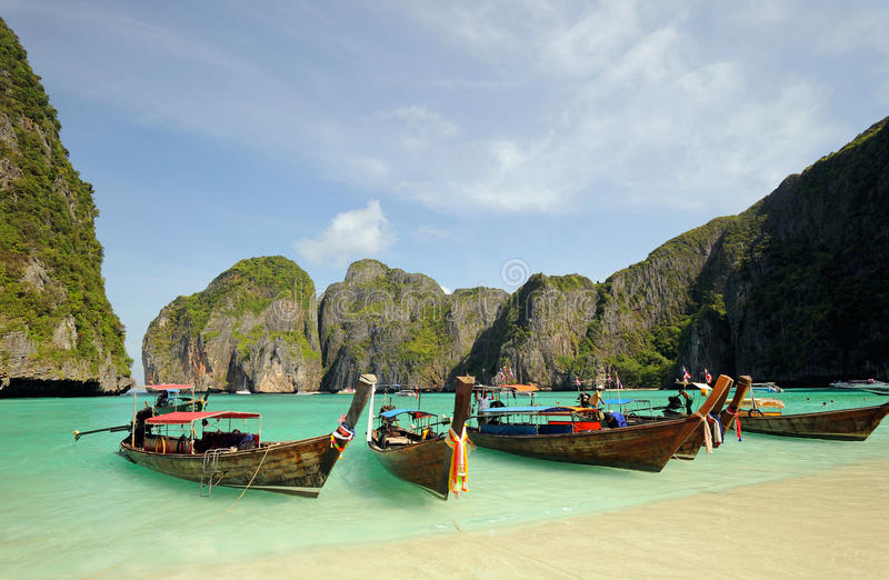 Download Thailand. Andaman Sea. Phi Phi Island. Maya Bay Stock Photo - Image: 13402302