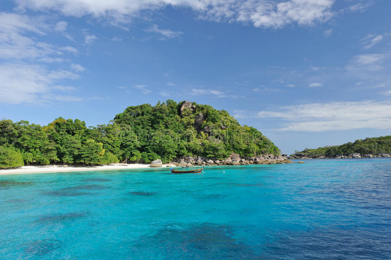 Download Thailand. Andaman Sea. Similan. Boat Stock Photos - Image: 13291053