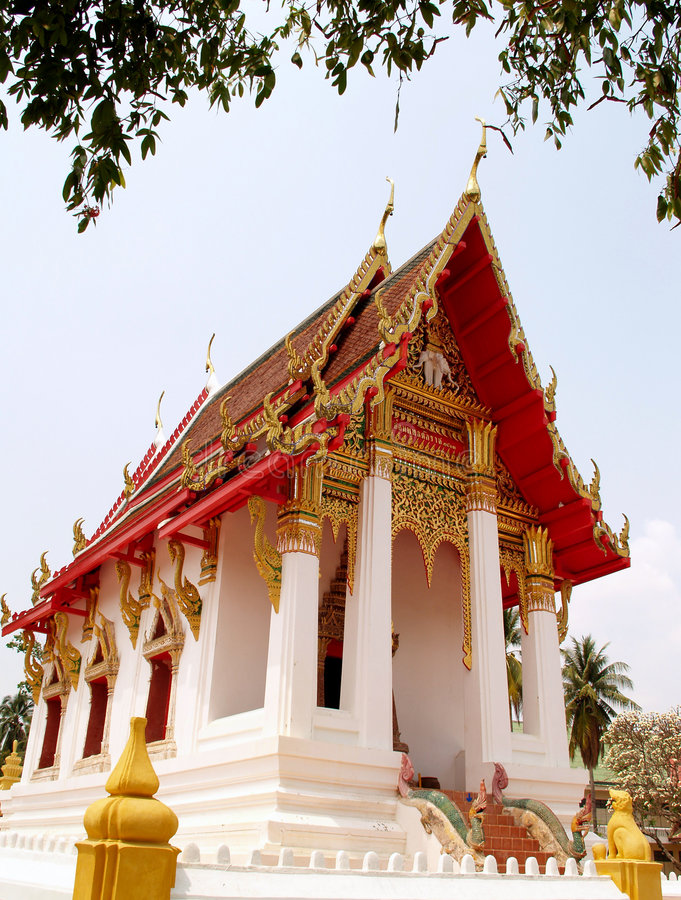 Thailand architecture style 04 royalty free stock photo